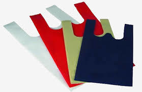 Color W- Cut NOn Woven Bags