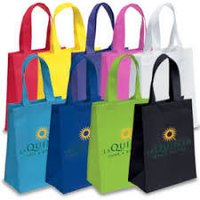 Printed Non Woven Loop Handle Gadget Bag