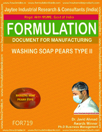 Washing Soap Pears Type Ii