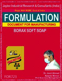 FORMULA FOR BORAX SOFT SOAP