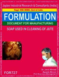 SOAP USED IN BLEACHING OF JUTE