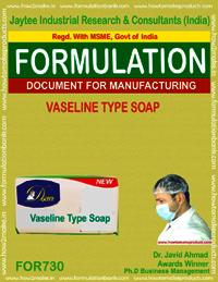 Vaseline Type Soap