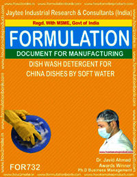 DISH WASH DETERGENT FOR CHINA DISHES BY SOFT WAT