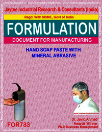 HAND SOAP PASTE WITH MINERAL ABBRESIVE