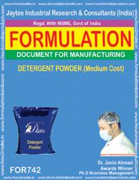 Detergent Powder (Medium Cost)