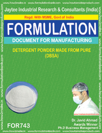 Detergent Powder Formulation