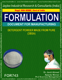 DETERGENT POWDER MADE FROM PURE DBCA