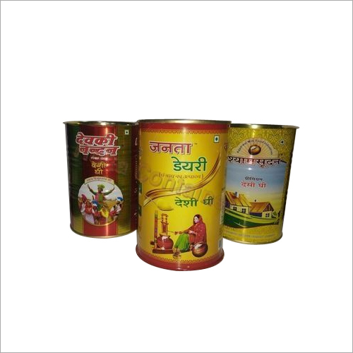 Ghee Tin Can