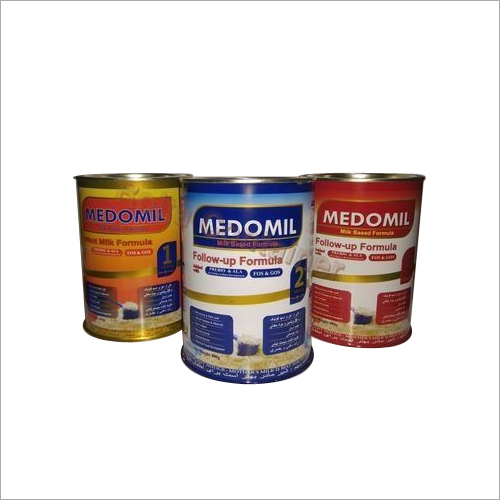 Milk Food Tin Cans