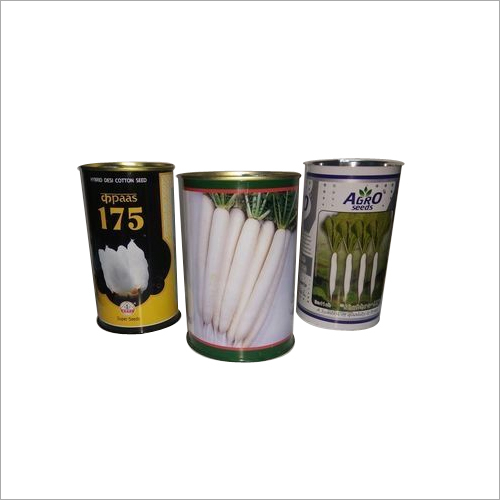 Vegetable Seeds Tin Cans