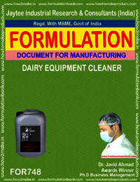 Dairy Equipment Cleaner