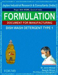 Dish Wash Detergent Type 1