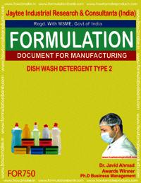 Dish Wash Detergent Type 2