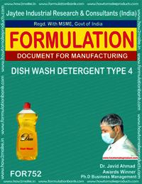 DISH WASH DETERGENT TYPE 4