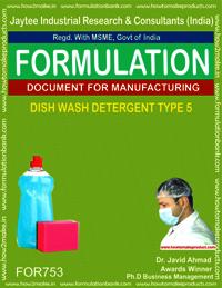 DISH WASH DETERGENT TYPE 5