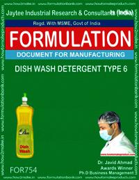 DISH WASH DETERGENT TYPE 6