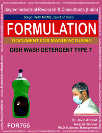 DISH WASH DETERGENT TYPE 7