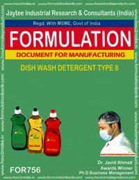 DISH WASH DETERGENT TYPE 8