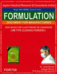 DISH WASH FOR PLASTICWARE OR CHINAWARE-VIM TYPE CLEANING POWDERS