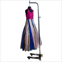 Fancy Multicolored Anarkali Dress