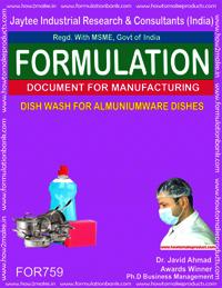 Dish Wash for Aluminium Ware Dishes