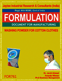 WASHING POWDER FOR COTTON CLOTHES