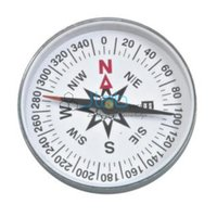 Magnetic Plotting Compass (Transparent)