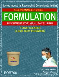 FLOOR CLEANER (light duty powder)