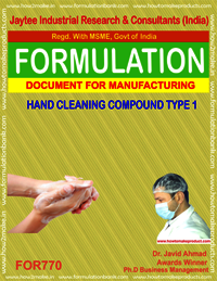 HAND CLEANING COMPOUND TYPE 1
