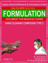 HAND CLEANING COMPOUND TYPE 2