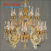 Crystal Candle Light Chandelier