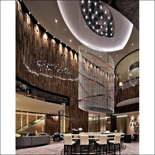 Ceiling Crystal Chandelier For Hall