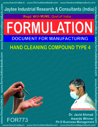 HAND CLEANING COMPOUND TYPE 4