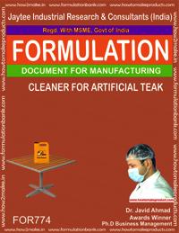 ARTIFICIAL TEAK CLEANER