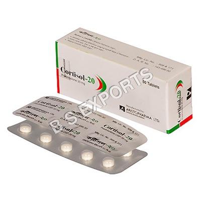 Cortisol-20 Tab