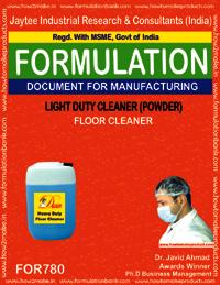 LIGHT DUTY CLEANER POWDER (FLOOR CLEANER) TYPE 2