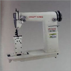 Twin Needle With Round Head Sewing Machine