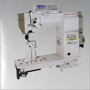 Single Needle Roller Feed Post bed Sewing Machine