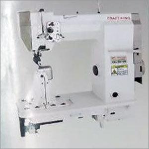 Laura Sartorius with Sewing Machine