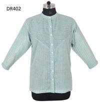 10 Cotton Hand Block Print Womens Short Top Kurti Dr402