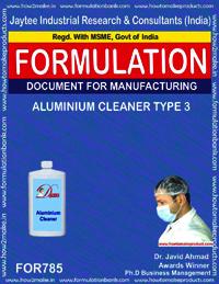 ALUMINIUM CLEANER TYPE 3
