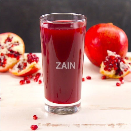 Clarified Pomegranate Juice