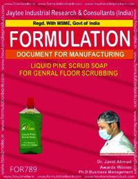 LIQUID PINE SCRUB SOAP FOR GENERAL FLOOR SCRUBBING