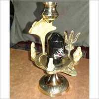 Brass Puja Shivling