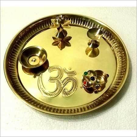 Brass Puja Thali