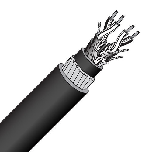 RS232 Twisted Pair  Armoured Cable