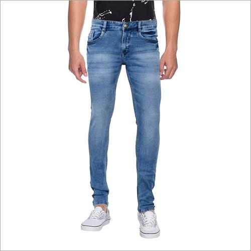 Mens Regular Fit Straight Leg Jeans