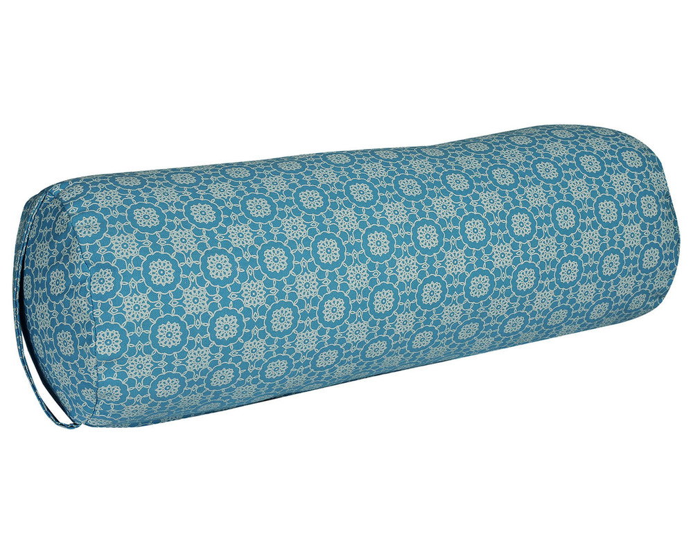 Buckwheat Filled Printed Bolster