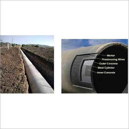 Prestressed Concrete Cylinder Pipe