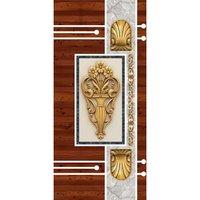 Wooden Door Skin Paper Print